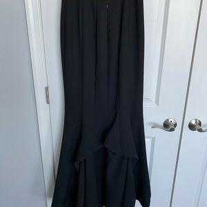 Frascara formal black evening skirt  Size 8